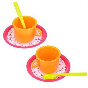 Набор посуды Чайная пара Розе 6дет.