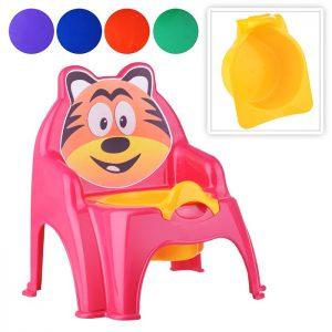 Горшок детский Тигра (цвет в ассортименте)