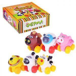 Набор животных 9552 Ферма в коробке (цена за 12шт.)