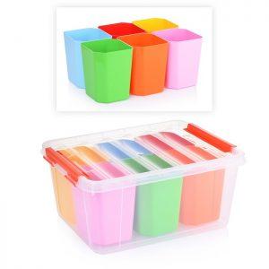 Ящик для игрушек 15л. ПРОФИ KIDS 410*295*183
