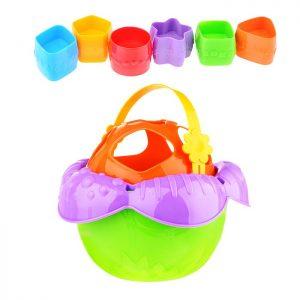 Дидактическая игрушка Ведро Цветочек