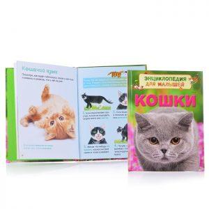 Энциклопедия для малышей Кошки