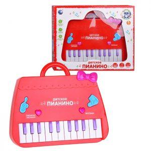 Пианино 9032 на батарейках, в коробке