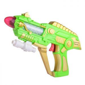 Пистолет Космический бластер Рейдер 929-13С в пакете, на батарейках