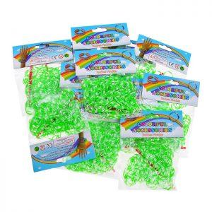 Резинки для плетения браслетов 213-9 в пакете по (12 уп.)