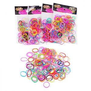 Резинки Р675 для плетения браслетов в пакете (упаковка 12шт.)